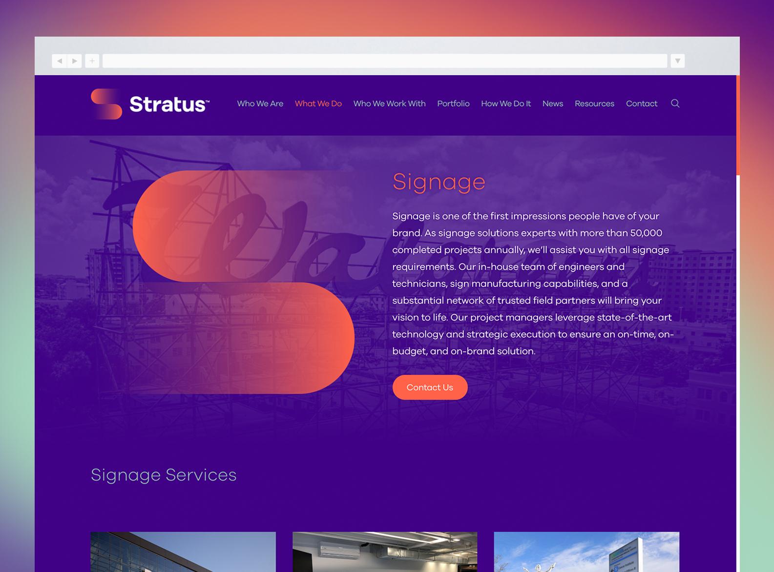 Stratus Website